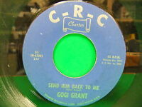 "Gogi Grant Send Him Back To Me / Joanie's Shadow 1963 7"" 45 C-R-C Charter C 1"