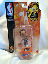 99 00 NBA Jams Court Collection Allen Iverson 76ers Action Figure By Mattel Kids
