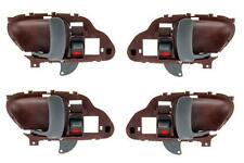 NEW Inside Door Handle Red Set of 4 Fits 95 - 99 Suburban Tahoe Yukon