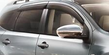Nissan Qashqai Puerta Lateral viento desviadores Conjunto de 4 Nuevo + H0800JD000 Original