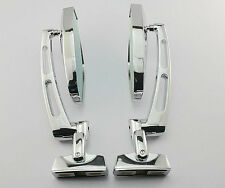 CHROME MOTORCYCLE SPORTS SIDE REARVIEW MIRRORS FOR HAYABUSA ZX14R ZX10R R1 R6 S