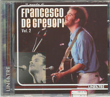 IL MONDO DI FRANCESCO DE GREGORI : VOL. 2 - CD ( NUOVO SIGILLATO )
