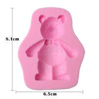 3D Toy Bear Silicone Cake  Mould Fondant  Sugar Chocolate Baking Decorating Tool