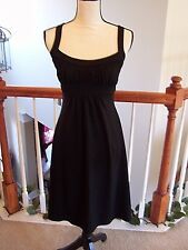Susana Monaco XS Dress Black Sleeveless Empire Waist NWOT