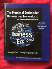 The Practice of Statistics for Business and Economics by University David S Moor
