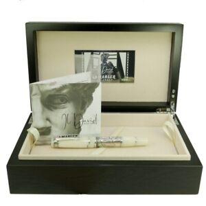 Marlen Il David Limited Ed. (388 pcs) Fountain Pen | Gold Nib | Celluloid Silver
