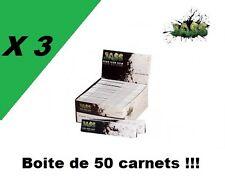JASS Slim 3 boites / box de 50 carnets de feuilles