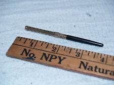 Victorian era fancy slide dip fountain pen with John Holland nib (A69)
