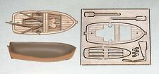 Mantua Plastic and Wood Lifeboat Kit Length 65mm