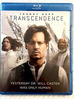 New/Sealed TRANSCENDENCE Blu-ray Disc DVD HD Movie Johnny Depp FREE SHIPPING!