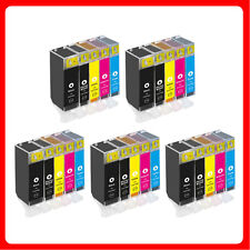 25 Ink Cartridges for Canon Pixma iP4600 iP4700 MP540 MP560 MP630 MP980 MX860