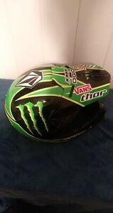 Thor Quadrant Monster Energy Pro Circuit Motocross Helmet MX/ Dirt Bike