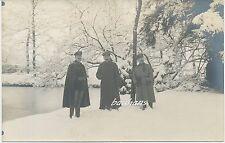 Foto Offiziere- Pistole -Winter- 1.WK  (G420)