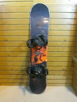 Nitro Kids Youth Snowboard 126cm, Small Burton Bindings -  Lot 1697