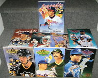 1991-92 LEGENDS SPORTS MAGAZINE LOT OF 8 DIFFERENT W NATL CONVENTION ISSUE NRMT