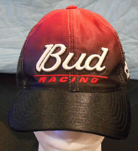Dale Earnhardt Jr Chase Authentic #8 Budweiser Bud Fade Black to Red Hat Cap NEW