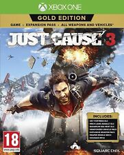 Just Cause 3 Gold Edition (Xbox One) NEW & SEALED Fast Free UK Dispatch