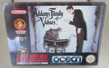 Addams Family Values (Nintendo SNES) PAL OVP/Modul/Anleitung