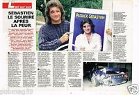 Coupure de Presse Clipping 1992 (2 pages) Accident Patrick Sebastien