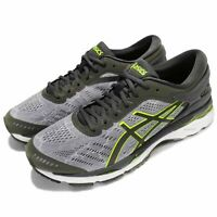 Asics Gel-Kayano 24 Running shoes Grey/Neon-Yellow/White [T8A4N-9695] Men's 7 D