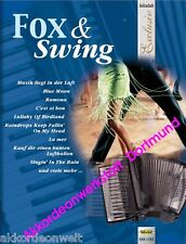 Fox & Swing - Noten für Akkordeon, Sheet Music Book  for accordion, VHR 1777