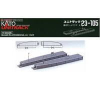 Kato 23-105 Quai ile Fin / Island Platform End Type 4 - N