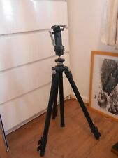 Manfrotto 055XDB Tripod with 222 head good condition