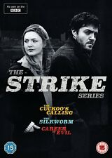 STRIKE Series 1 2 3 Box Set Complete Cuckoos Calling Silkwom Career Evil NEW DVD