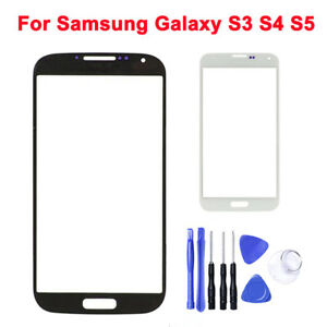 Original Replace For Samsung Galaxy S3 S4 S5 Touch Screen Front Glass Lens+ Tool
