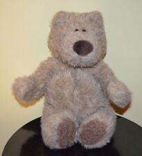 "Gund BearFace Plush Teddy Bear Face Stuffed Animal 16"" #2480 Brown vtg"