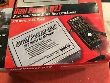 MRC Dual Power 027 Transformer w/walkaround controller & Original Box, 270 Watt
