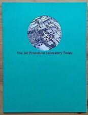 The Jet Propulsion Laboratory Today booklet 1972 JPL NASA Mariner Lunar