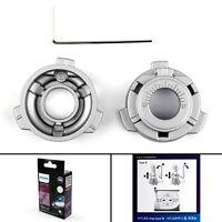 2x H7 11172B Socket LED Faros Bombilla Adaptadores titulares Retención Clips,