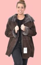 Shearling Outdoor Regular Size Coats, Jackets & Vests for Women