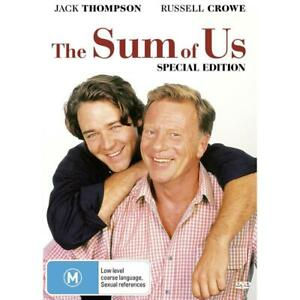 The Sum Of Us (DVD, 2008) Jack Thompson/Russell Crowe