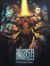 2011 BLIZZ CON ANAHEIM BLACK GRAPHIC T-SHIRT Kids XL