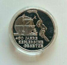 10 Euro Silber Deutschland 2009 Kepplersche Gesetze SPIEGELGLANZ