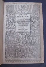 1570-Foxe's Book of Martyrs-The First Entering of Queen Mary-1553!!!!!!!!!!