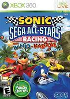 XBOX 360 - SONIC & SEGA ALL-STARS RACING BRAND NEW SEALED
