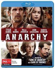 *New & Sealed*  Anarchy (Blu-ray, 2015) Ed Harris / Ethan Hawke / Milla Jovovich