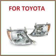 Headlights Left & Right side orange indicator lens for toyota Hilux 2005-2011