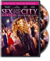 Sex and the City - The Movie (DVD, 2008, 2-Disc Set, Widescreen Special Edition)