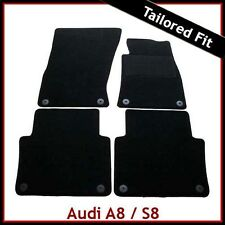 Audi A8 / S8 2011- Tailored Fitted Carpet Car Mat