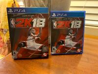 NBA 2K18: Legend Edition (Sony PlayStation 4) COMPLETE Rare