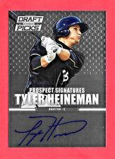 2013 Tyler Heineman Panini Prizm Draft Picks Rookie Auto - Houston Astros