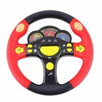 NEW KID INFANT BABY DRIVER STEERING WHEEL RACING TOY ROLE PLAY AUTISTIC CHILDREN