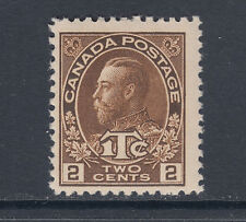Canada Sc MR4 MNH. 1916 2c + 1c brown KGV War Tax, F-VF