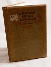 CHANGE GEAR DEVICES BY OSCAR E PERRIGO