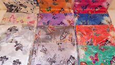 Joblot 24 pcs Butterfly Design chiffon scarves scarf  wholesale 50x160 cm Lot 11
