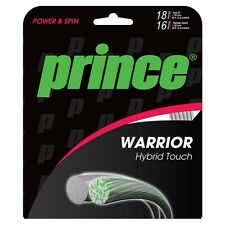 PRINCE Warrior Hybrid Touch Tennis String Silver and Clear set (Free Express)